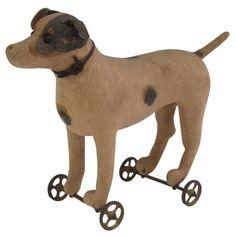 German Pull Toy circa 1900.