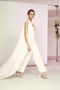 Combinaison pantalon de mariée Asos