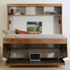 Found it at Wayfair - Modern Birch Murphy Bed $2350