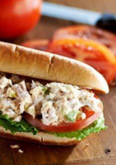 Tuna Salad Sub Sandwiches