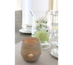 Fink Niva Teelichthalter mit Glaseinsatz