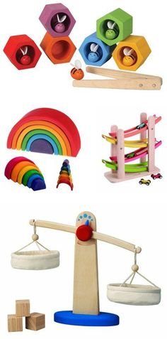 {wood toy gifts} great educational collection *love the scale #educationaltoy