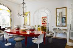 maria llado dining room
