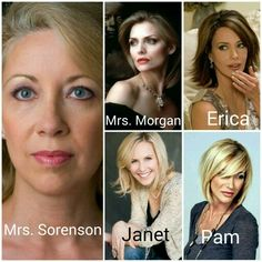 The women of the series.
