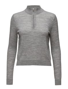 2nd Jessie (Black) - DAY BIRGER ET MIKKELSEN  Regular fit Casual elegance Classic Made from luxurious materials Grey Winter Jersey Knitwear Jessie, Knitwear, Athletic, Jackets, Shopping, Black, Fashion, Down Jackets, Moda