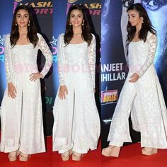 Really want a plain white anarkali White Anarkali, Anarkali Dress, Pakistani Dresses, Lehenga, Indian Attire, Indian Wear, Indian Outfits, Indian Designer Suits, Salwar Designs