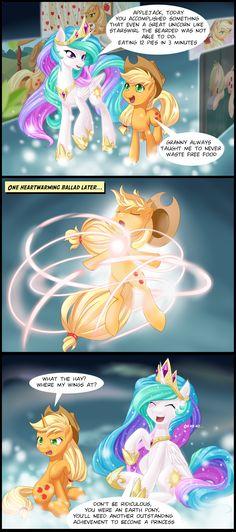 Ascension of Applejack by dstears.deviantart.com on @deviantART