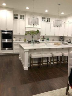 The kitchen that is top-notch white kitchen , modern kitchen , kitchen design ideas! Kitchen Cabinet Remodel, Diy Kitchen Remodel, Kitchen Redo, Home Decor Kitchen, Kitchen Interior, Home Kitchens, Kitchen Dining, Kitchen Ideas, Kitchen Layout