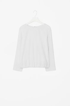 Gathered hem top