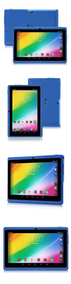 Computers Tablets Networking: Irulu Expro X1 7 Android 5.0 8Gb Tablets Pc Wifi Blue New Gifts Hd Touch Screen BUY IT NOW ONLY: $39.99