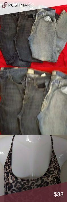 Wrangler Jean bundle 34X34 2 pair of 34X34 and 1 pair  of 36X34 men's or boys jeans. Wrangler brand Wrangler Jeans