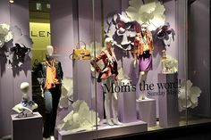 Mothers-Day-Window-Display- Buy mannequins for your window display at www.MannequinMadness.com
