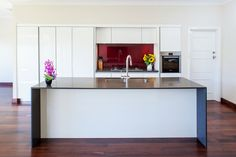 Floreat kitchen renovation by Retreat Design | Cabinetry from our Italian supplier Arrital: 'Light' kitchen collection  #kitchen #design #kitchenrenovation
