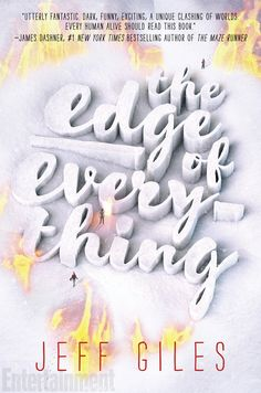 Cover Reveal: The Edge of Everything by Jeff Giles - On sale January, 2017! #CoverReveal