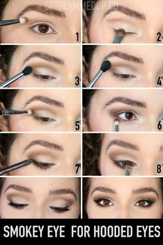 make up monolid eyes / monolid make up . monolid make up korean . monolid make up tutorial . monolid make up natural . make up for monolid eyes . make up monolid eyes . eye make up for monolid eyes . make up for monolid Eye Makeup Blue, Makeup For Hooded Eyelids, Eye Makeup Steps, Colorful Eye Makeup, Makeup For Brown Eyes, Eyeshadow For Hooded Eyes, Hooded Eye Makeup Tutorial, Droopy Eye Makeup, Makeup For Downturned Eyes