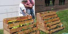 Fioriere scale per il vostro arredamento da giardino