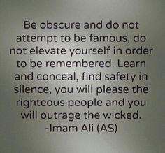 Saying Imam Ali a.s