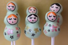 Cake Pops book by Clare O'Connell -Pop Bakery: 25 Cakes on Sticks and Other Tempting Delights