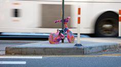 STREET ART UTOPIA » We declare the world as our canvasYarn Bombing / Guerrilla Crochet - A Collection » STREET ART UTOPIA