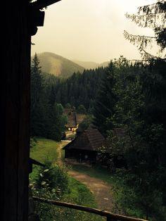Zuberec, Skovakia - Open museum