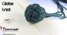 How to tie a globe knot.