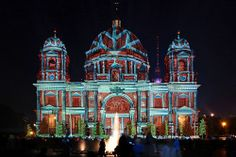 Berliner Dom /// Berlin Cathedral Church @ Berlin FESTIVAL OF LIGHTS 2012. Presented by Oesterreich Werbung. (c) Festival of Lights / Frank Herrmann #Berlin #FestivalofLights #BerlinerDom #BerlinCathedralChurch