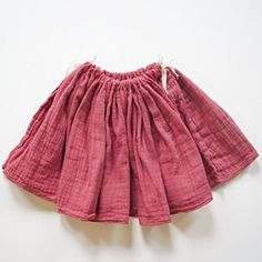 Atsuyo et Akiko Raspberry Tutu Gauze Skirt #ladida #ladidakids
