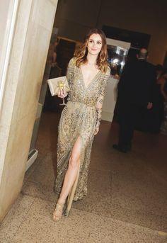 Emilio Pucci Gold Caviar Heart Dress Celebrity Style Emilio Pucci