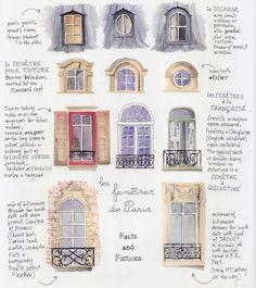 Fenêtres, Paris.