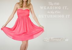 Rent your bridesmaids dresses with Little Borrowed Dress!