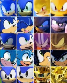Here, have a ton of cuties.  Basically Sonic and his forms and some Sonic canons/series he's in.