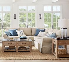 Having small living room can be one of all your problem about decoration home. To solve that, you will create the illusion of a larger space and painting your small living room with bright colors c… Coastal Living Rooms, My Living Room, Living Room Interior, Living Room Furniture, Living Room Decor, Home Furniture, Small Living, Furniture Stores, Antique Furniture