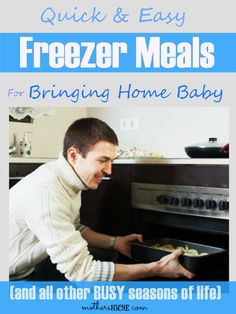 A bunch of freezer meal recipes (and they aren't all casseroles!)