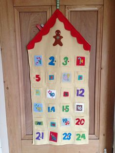 Cormac's advent calendar. In the nick of time!!