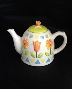 Rayware teapot, with Flowers Good Condition   eBay
