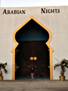 Arabian Nights Dinner Show. CLOSED FOREVER, JANUARY 1, 2014