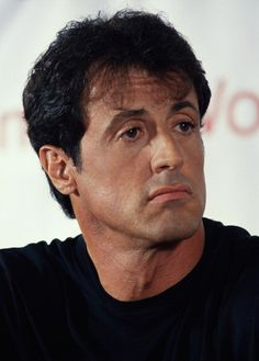 His eyes r like perfect😍😛 Hollywood Actor, Hollywood Celebrities, Hollywood Actresses, Actors & Actresses, Male Celebrities, Celebs, Stallone Schwarzenegger, Sylvester Stallone Quotes, Rocky Series