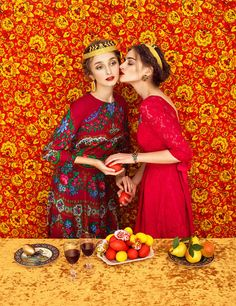 Vibrant images with a distinctive blend of stylistic influences are the modus operandi of Moscow-based photographer Andrey Yakovlev and art director Lili Aleeva (a duo known simply as Yakovlev and Aleeva). Placing an emphasis on feminine beauty and glamour, the creativehusband-wifepairhas created a photo series placing their subjects in traditional Slavic garb to create a collection of intense visuals. Dramatic and enticing, the duo are experts in forming memorable photographs by…