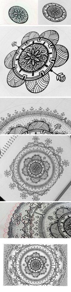 Sketchbook - Doodle_04 by Henrique Abreu, via Behance