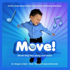 Move! Sing! Play Along and Sing! CD's for Therapists and Parents- Re-pinned by @PediaStaff – Please Visit http://ht.ly/63sNt for all our pediatric therapy pins