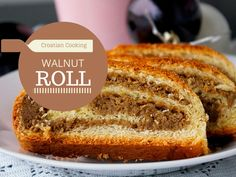 Here is how to make Croatian walnut roll. This easy to make recipe comes from a Croatian reader who lives in Canada. Baking Recipes, Dessert Recipes, Desserts, Dessert Bread, Bread Recipes, Croation Recipes, Croatian Cuisine, Serbian Recipes, Hungarian Recipes