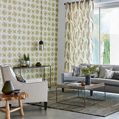 Nihan wallpaper is a halved geometric fossil with a tie-dye shadowing effect from the Anthozoa collection. Harlequin Wallpaper, Striped Wallpaper, Geometric Wallpaper, Wall Wallpaper, Buy Wallpaper Online, Wallpaper Samples, Decorating Your Home, Interior Decorating, Interior Wallpaper