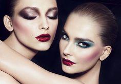 She Loves a Girl... Lipstick Lesbian Beauty..