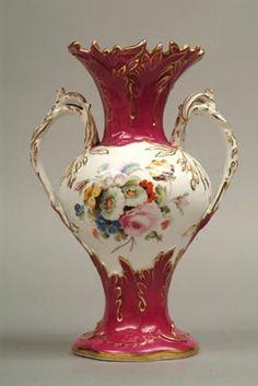 Coalport Vase c.1830. Shrewsbury Museums Service