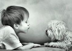 Puppy kisses (:
