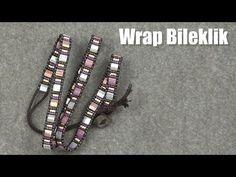 Wrap İp Bileklik Yapımı | Beaded Wrap Bracelet Tutorial - YouTube