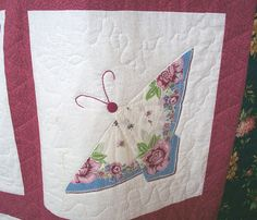 hankie quilt | Handkerchief Quilt Block | Flickr - Photo Sharing!