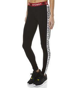 45ef8c7991d New Stussy Women s Barre Womens Legging Womens Fitness Sport Black. eBay. Stussy  WomenFitness Wear WomenFitness SportPants ...