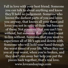 Fall in love with your best friend. Soulmate Love Quotes, Love Quotes For Boyfriend, Love Quotes For Him, Flirty Good Morning Quotes, Relationship Quotes, Life Quotes, Relationships, Meaningful Quotes, Inspirational Quotes