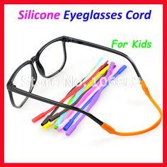 OT005 12pcs Children Kids Silicone Eyeglasses Cord Chain String Anti Slip Sunglasses Glasses holder Safe Comfortable
